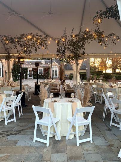 A perfect winter wedding
