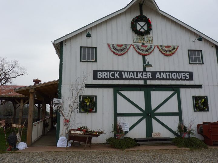 Exterior of the barn