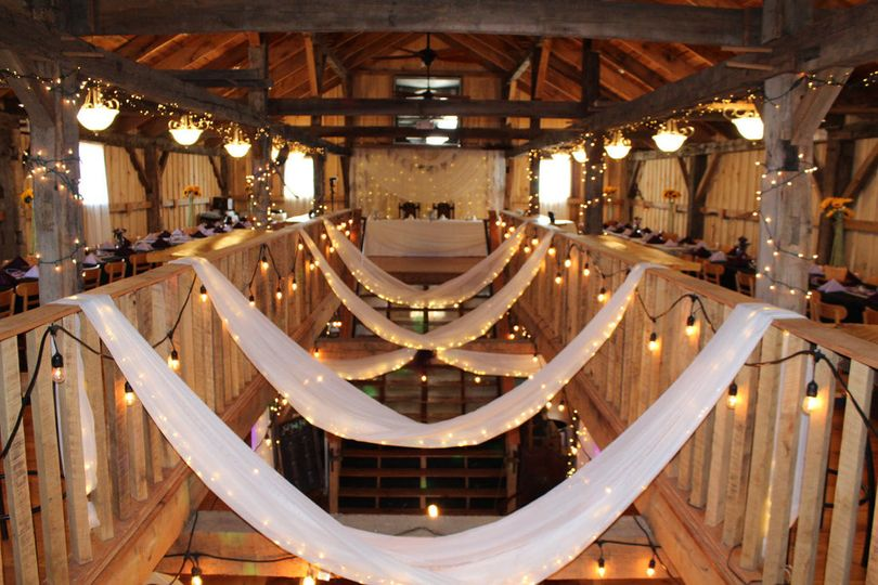 Hanging drapes