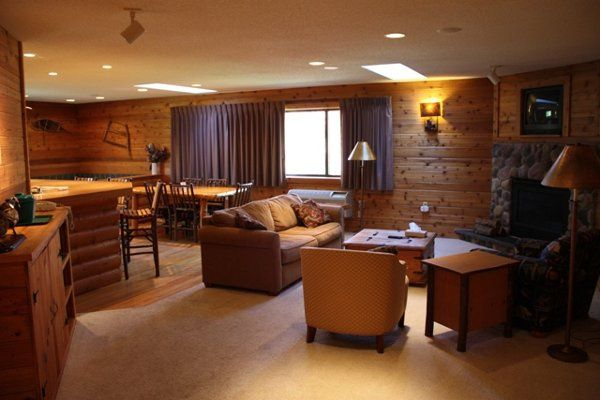 Interior view of the The Lodge at Crooked Lake