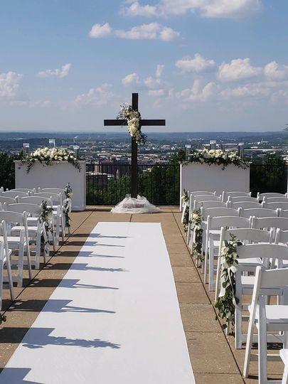 Wedding at Vulcan Park