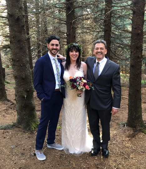 Black Balsam Knob Wedding
