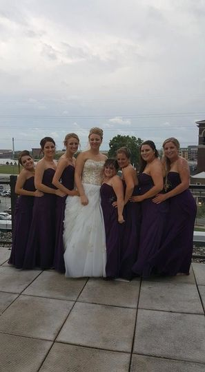 A perfect wedding party!