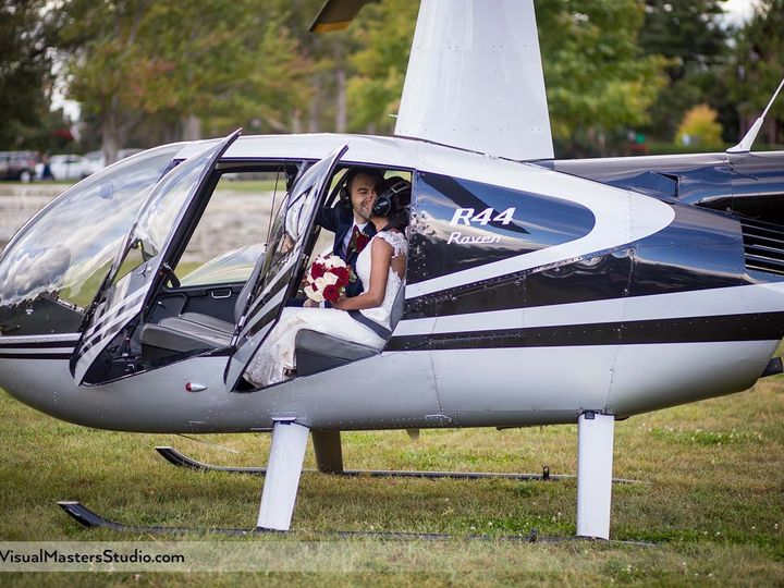 Tmx Bride And Groom In The Helicopter 51 683323 158897408864867 Cedar Grove, NJ wedding videography