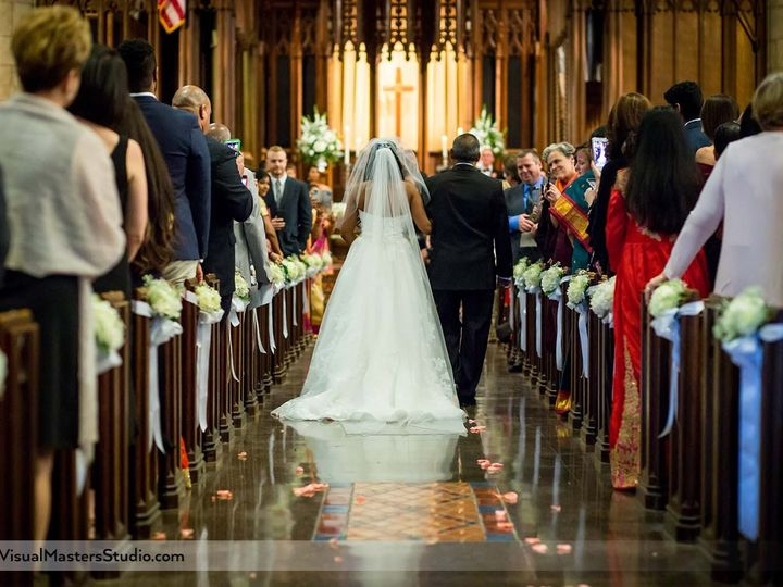 Tmx Bride Walking Down The Aisle Crescent Presbyterian Church 51 683323 158897693540182 Cedar Grove, NJ wedding videography