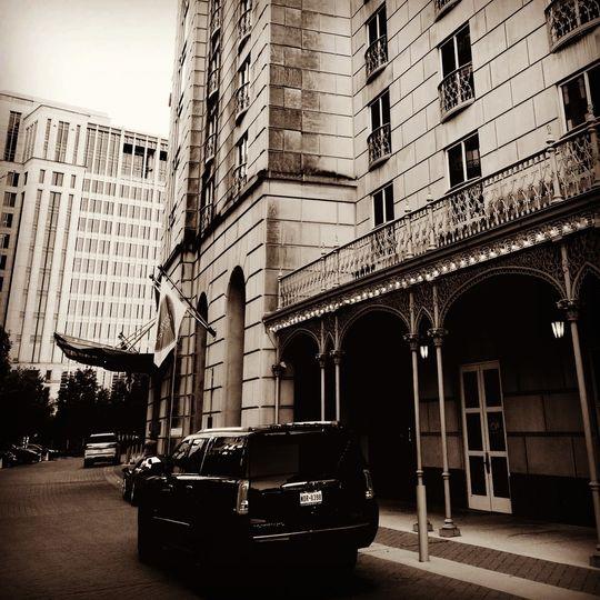 Honeymoon at Hotel