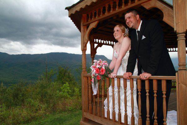 Wedding in the sky