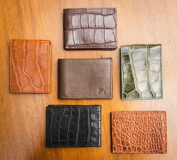 Luxury leather wallets