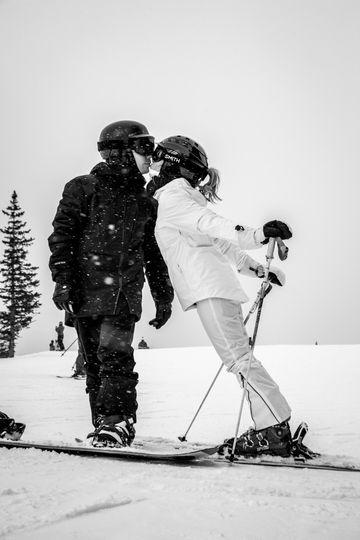 Skier/snowboarder love