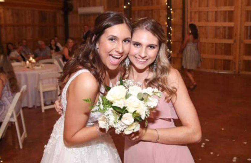 Bride and her Bestie