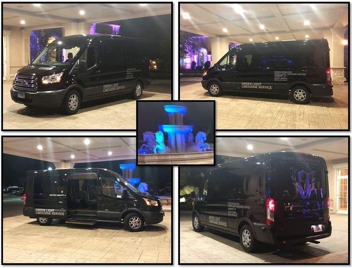 The Aria - 8-pass Exec Van