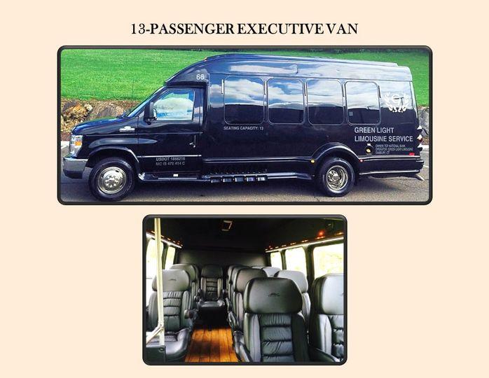 13-pass Exec Van