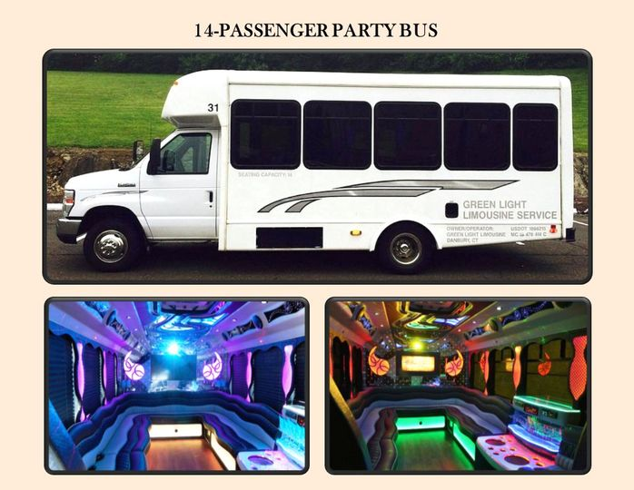 14-pass Party Bus