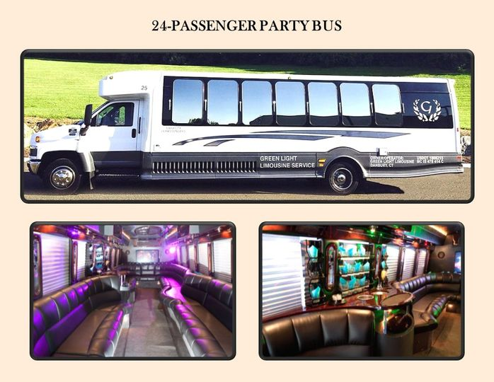 24-pass Party Bus