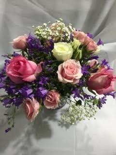 Tmx 1483499496684 Bride Bouquet Pink Purple Vienna, VA wedding dress