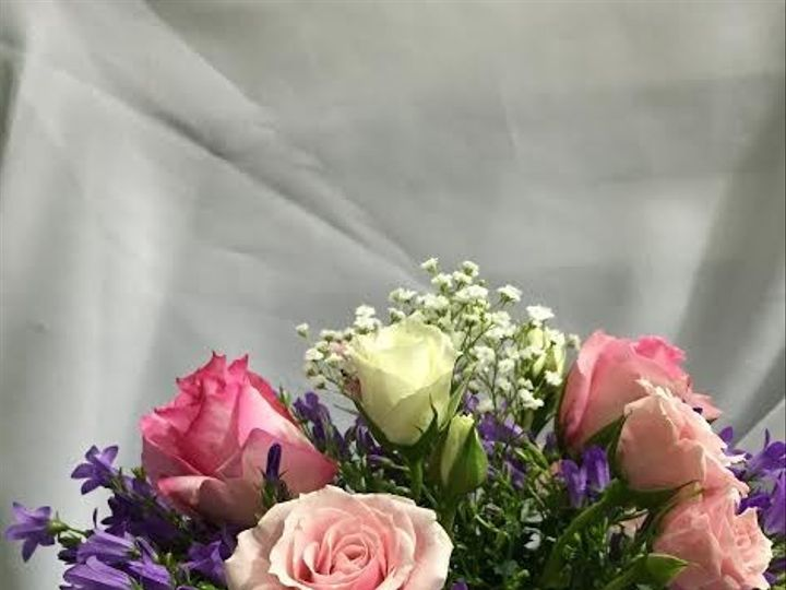 Tmx 1483499648879 Pink White Purple Bouquets Vienna, VA wedding dress