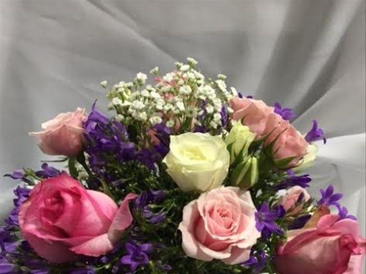 Tmx 1483499871451 Table Arragement Pink Purples White Vienna, VA wedding dress