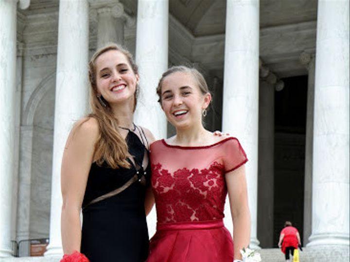 Tmx 1484181762512 Madeline And Black Dress Vienna, VA wedding dress