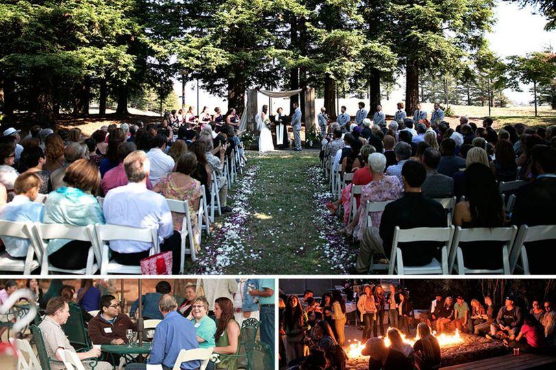 Our Redwood Grove venue