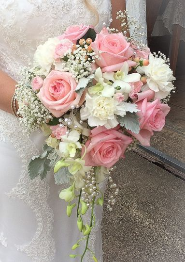 Pinks and whites