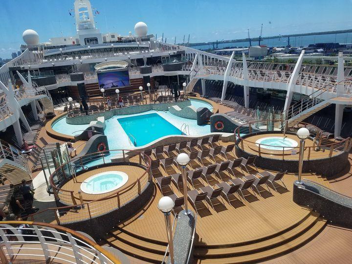Cruise and relax. You can get married on the cruise ship or take a honeymoon cruise!