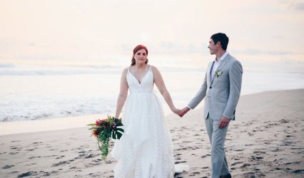 The wedding of Thayer and James