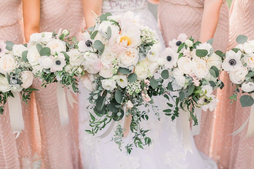 Bouquets at The Ryland Inn