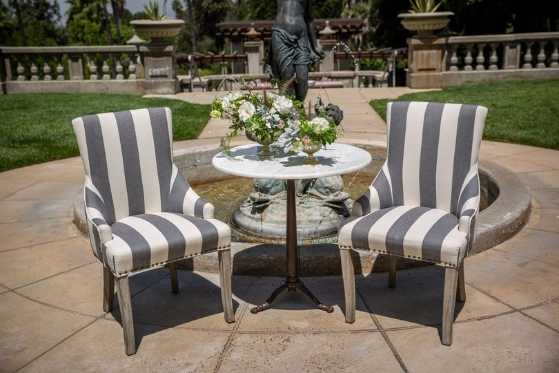 Marble sweetheart table