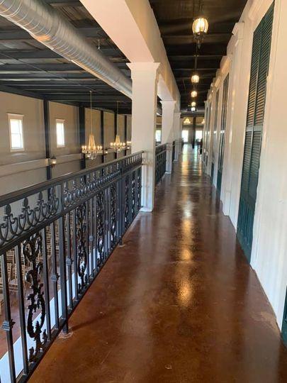 Upper mezzanine walk