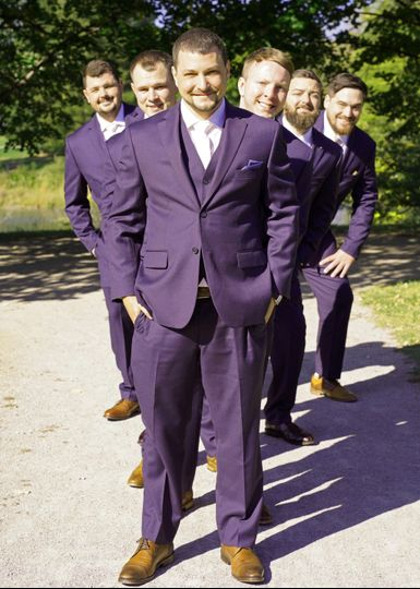 The Suit makes The Men