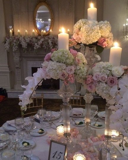 Sweet table arrangement