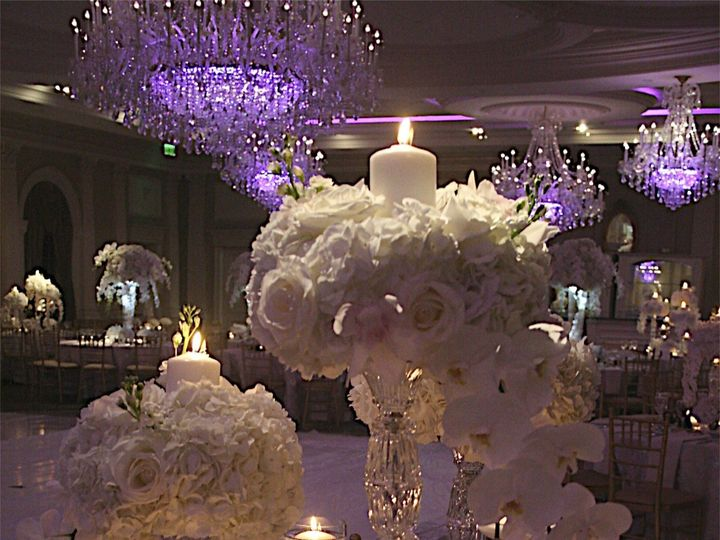 Tmx 1422399005433 Centerpiece W Chandelier Northvale, New Jersey wedding florist