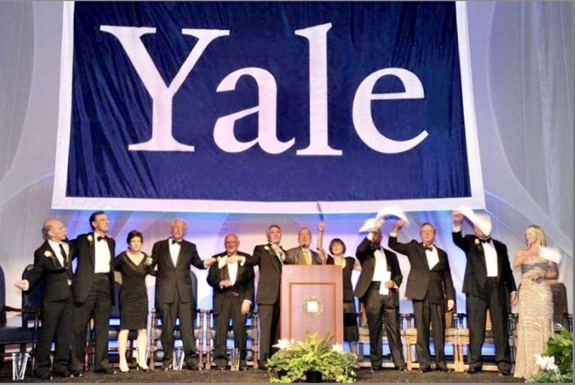 Yale large backdrop