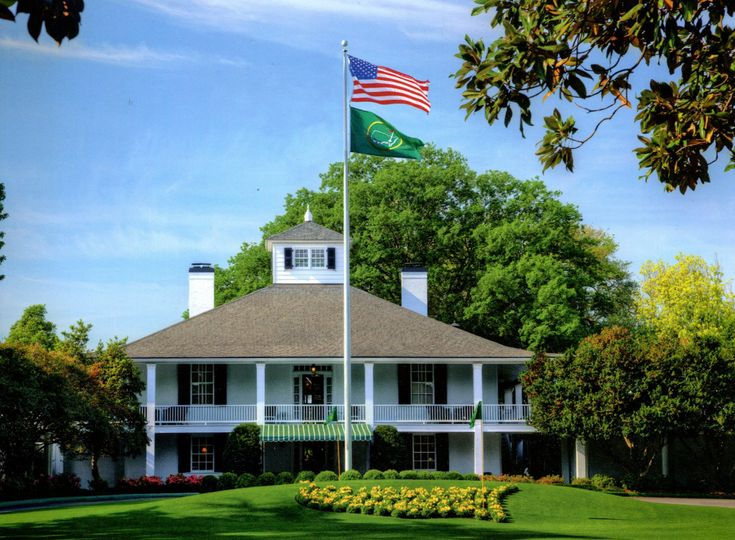 The masters clubhouse flag