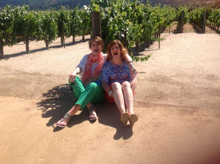 Two sisters - napa field trip