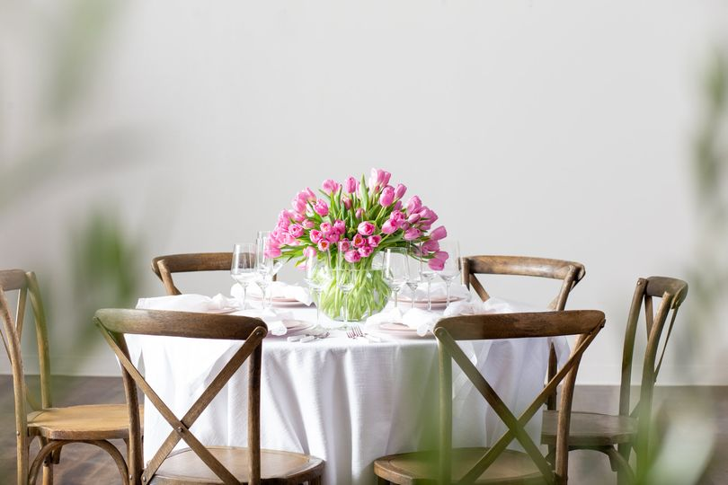 Tulips and Tuscan Chairs