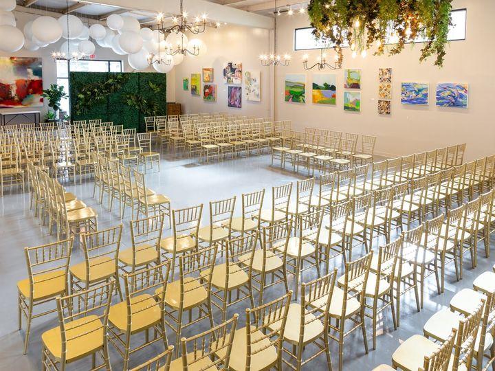 Tmx 2 The Collectors Room Center Ceremony Set 51 1051523 158766240216529 Charlotte, NC wedding venue