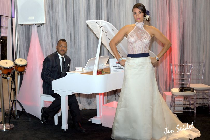 White Baby Grand Piano Rental