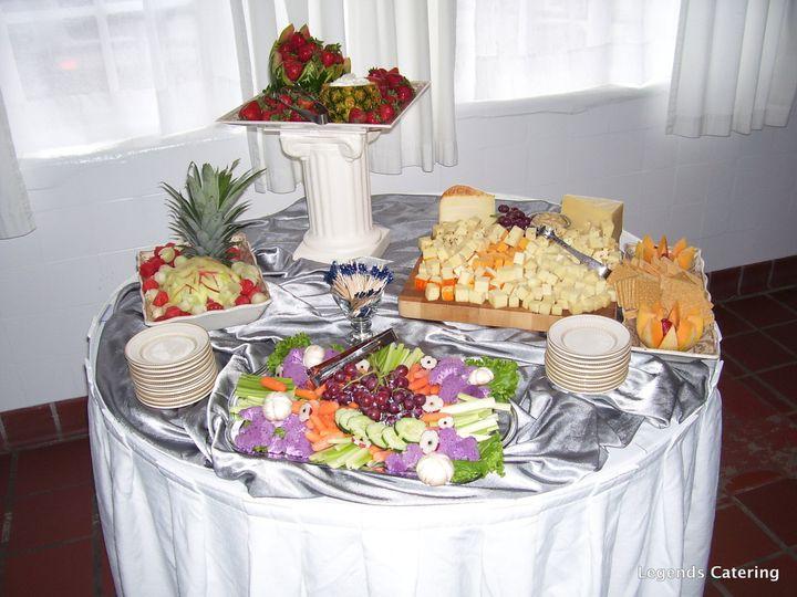 Tmx 1377525599165 Cheese252025262520veggie2520display York, PA wedding catering