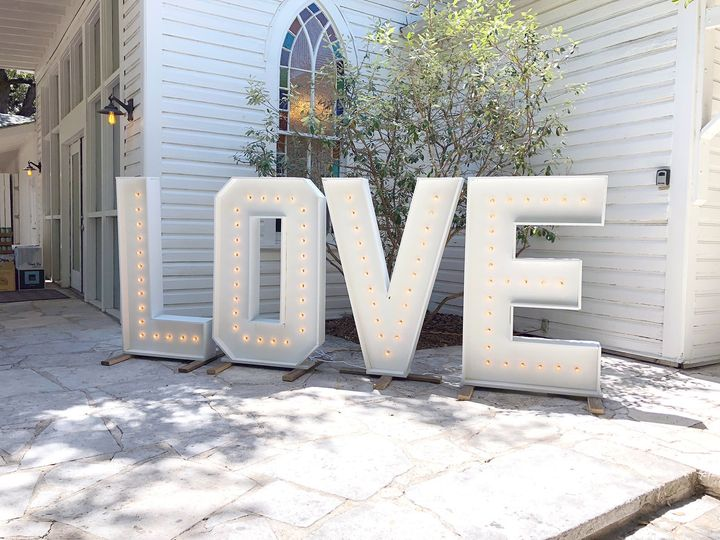 4' Marquee Letters