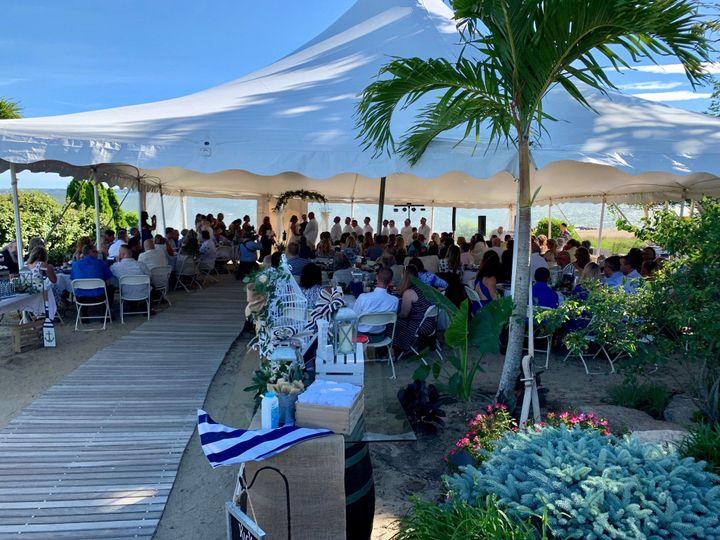 Wedding in full swing