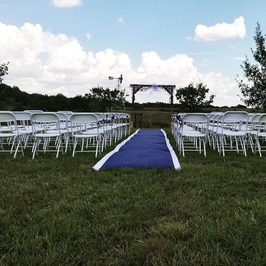 An option for the ceremony