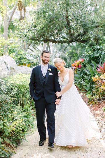 Timeless wedding photo