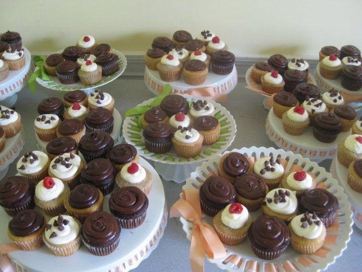 Tmx 1409578305565 Cupcake Displays For Wedding...great Centerpiece West Harrison wedding cake