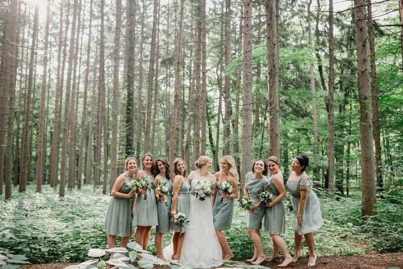 Forest wedding - Dana Ashley Events
