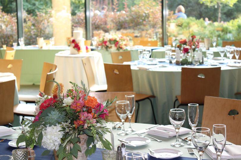 Table setup - Dana Ashley Events