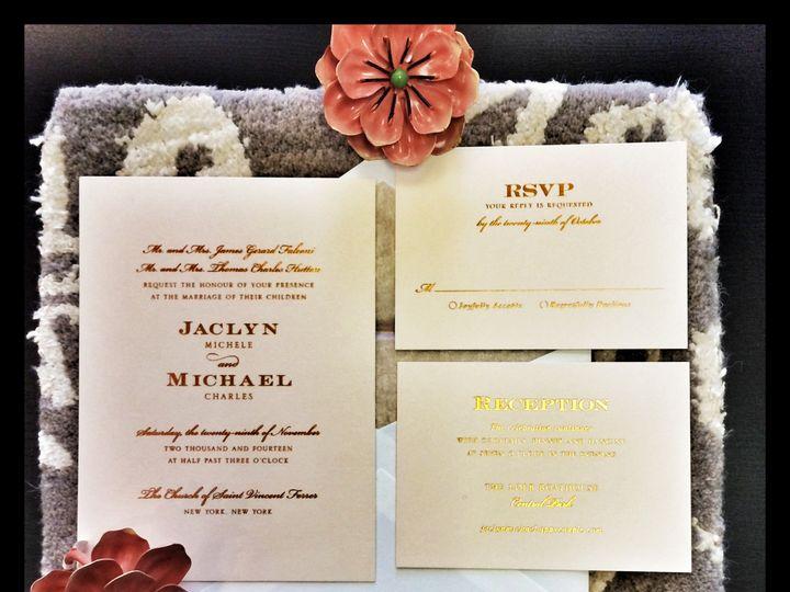 Tmx 1422026180142 Img3472 Chappaqua, NY wedding invitation