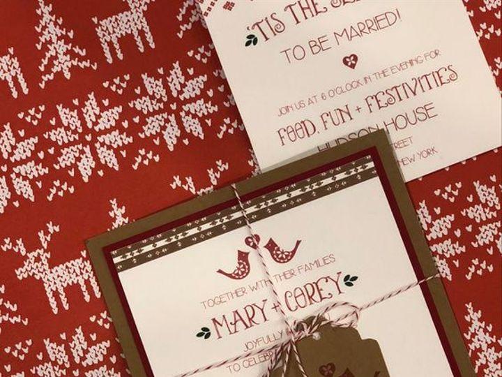 Tmx December Hudson House New York 51 168523 Chappaqua, NY wedding invitation