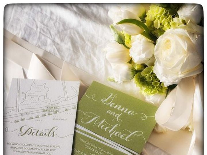 Tmx Green Custom Invite 51 168523 V1 Chappaqua, NY wedding invitation