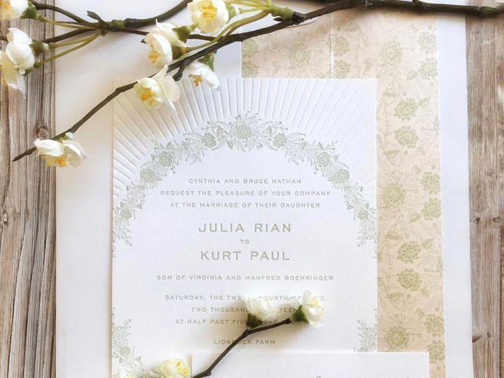Tmx Julia And Kurt Invitation 51 168523 158075032431242 Chappaqua, NY wedding invitation